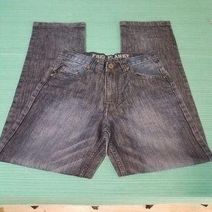 Free Planet Jeans Dark Wash Size 16